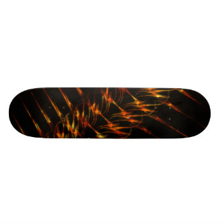 Trendy Fire Braid Skateboard