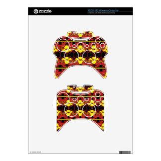Trendy fire xbox 360 controller skin