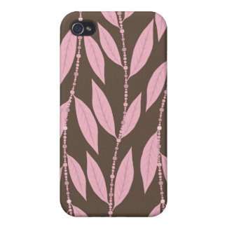 Trendy Floral Decor i Cover For iPhone 4
