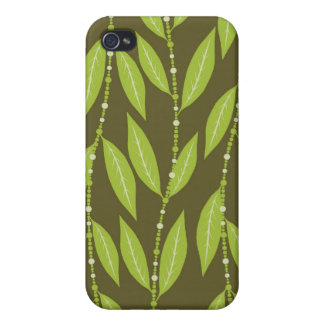 Trendy Floral Decor i iPhone 4/4S Cover
