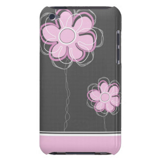 Trendy Floral Decor iPod Case Case-Mate iPod Touch Case