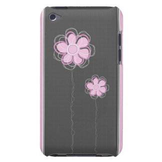 Trendy Floral Decor iPod Case Barely There iPod Cover