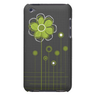 Trendy Floral Decor iPod Case Barely There iPod Covers