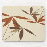 Trendy Floral Design Mousepad