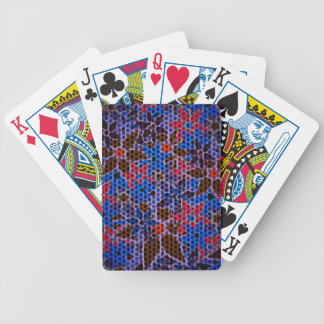 Trendy Floral Pattern #10 Bicycle Playing Cards