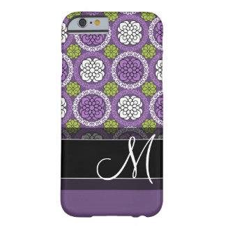 Trendy Floral Pattern - Orchid and Lime Green Barely There iPhone 6 Case