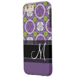 Trendy Floral Pattern - Orchid and Lime Green Tough iPhone 6 Plus Case