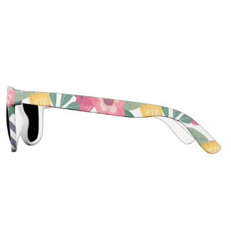 Trendy Floral Sunglasses