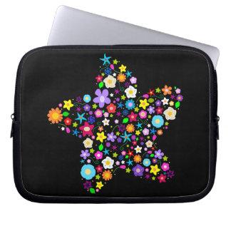 Trendy Flowery Laptop Cover