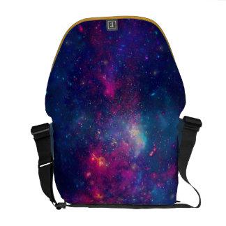 Trendy Galaxy Print / Nebula Messenger Bag