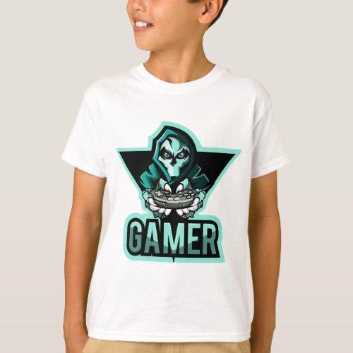 trendy Gaming fun t_shirts for kids