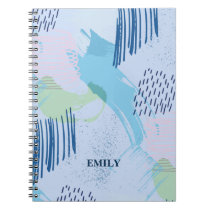 Trendy Geometric Pattern Notebook