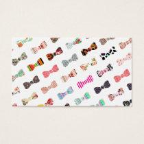 Trendy Girly  Colorful Patterns Cute Bows
