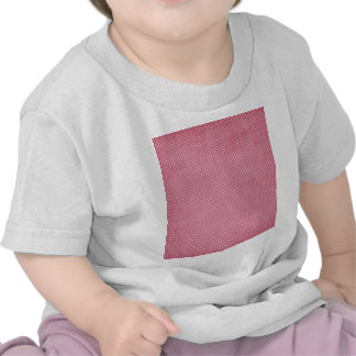 Trendy Girly Vintage Pink Polka Dots Pattern Tee Shirts