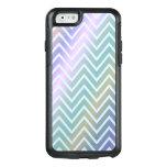 Trendy Glossy Zigzag Pattern Design OtterBox iPhone 6/6s Case