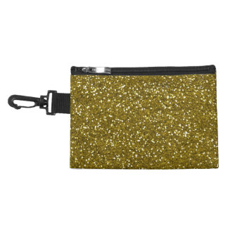 Trendy Gold Glitter Accessories Bags