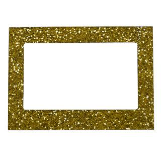 Trendy Gold Glitter Magnetic Photo Frame