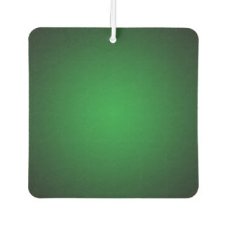 Trendy Grainy Green-Black Vignette Car Air Freshener