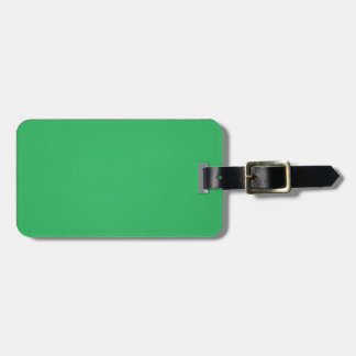 Trendy Green Grainy Background Bag Tag