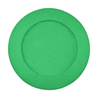 Trendy Green Grainy Background Button Covers