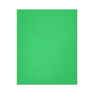 Trendy Green Grainy Background Canvas Print