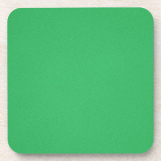 Trendy Green Grainy Background Coaster