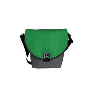 Trendy Green Grainy Background Courier Bag
