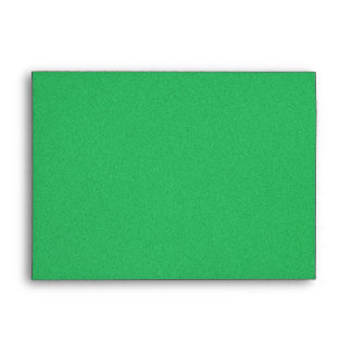 Trendy Green Grainy Background Envelope