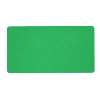 Trendy Green Grainy Background Label