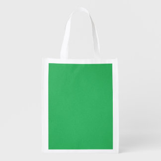 Trendy Green Grainy Background Market Tote