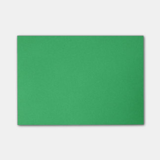 Trendy Green Grainy Background Post-it Notes