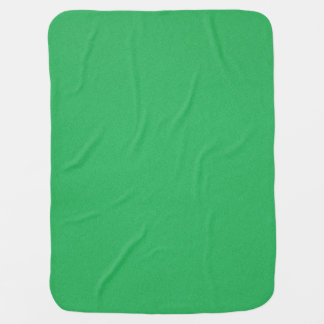 Trendy Green Grainy Background Baby Blankets