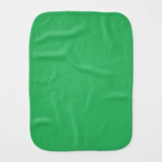 Trendy Green Grainy Background Baby Burp Cloths