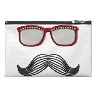 Trendy Handlebar Mustache Moustache Stache Travel Accessories Bags
