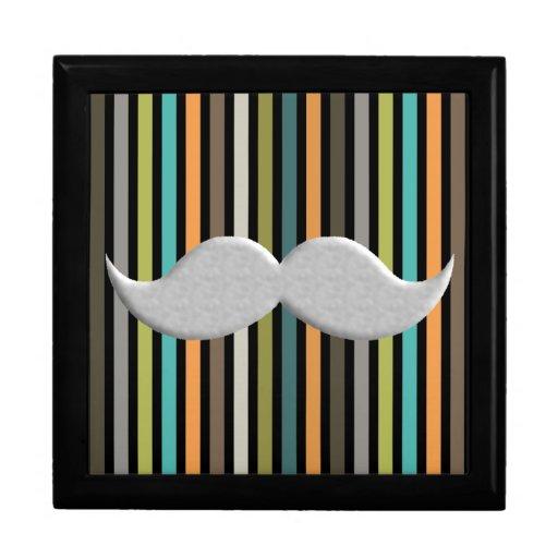 Trendy Handlebar Mustache Moustache Stache Gift Box