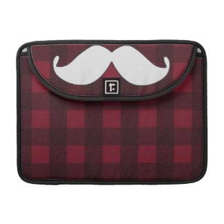 Trendy Handlebar Mustache Moustache Stache Sleeves For MacBooks