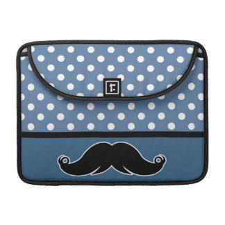 Trendy Handlebar Mustache Moustache Stache Sleeve For MacBooks