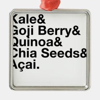 Trendy Health Food Metal Ornament