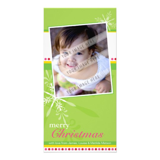TRENDY HOLIDAY PHOTOCARD :: brightlyflaked 2P Card