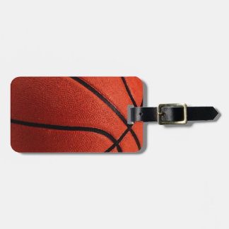 Trendy Hot Basketball Luggage Tags