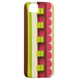 Trendy Hot Pink and Lime iPhone SE/5/5s Case