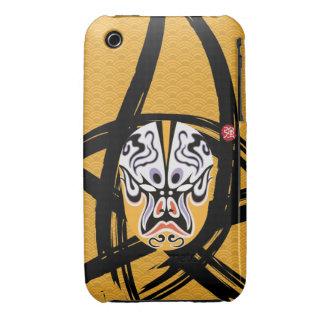 Trendy Iphone3 Case - Stylish Chinese Pop Art