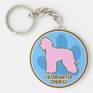 Trendy Irish Water Spaniel Keychain