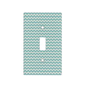 Trendy Jade Green Chevron Zigzag Stripes