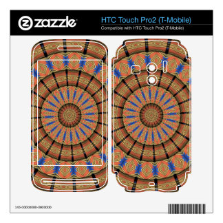 Trendy Layer circle pattern HTC Touch Pro2 Skin