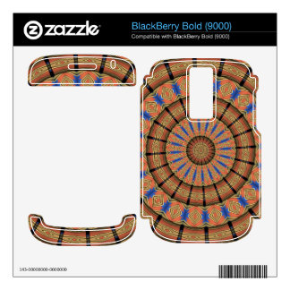 Trendy Layer circle pattern Skins For BlackBerry