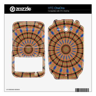 Trendy Layer circle pattern Decals For The HTC ChaCha
