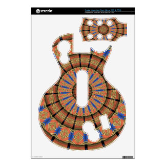 Trendy Layer circle pattern Guitar Hero Skin