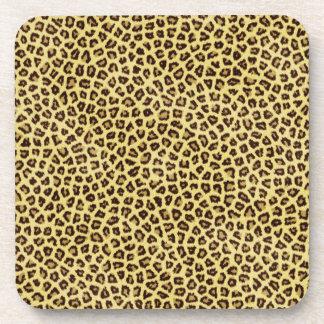 Trendy Leopard Cheetah Print Coaster