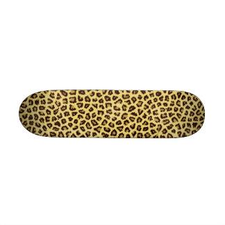 Trendy Leopard Cheetah Print Skateboard Decks